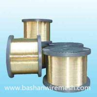 Cheap xinxiang bashan 0.25mm edm brass wire for sale