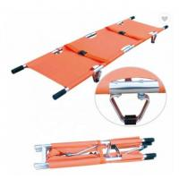 Cheap PVC Emergency Stretcher Trolley Popular Scoop Style Collapsible Stretcher Ambulance for sale