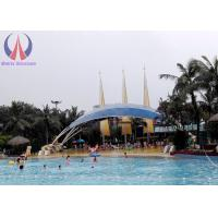 Cheap Waterproof Shade Sails Tensioned Membrane Structures With Customised Shape wholesale
