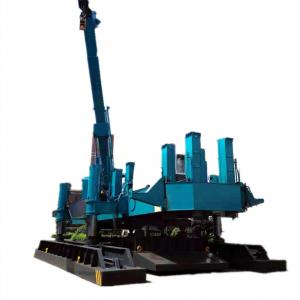 China Vibration Free Hydraulic Press In Pile Driver , Pile Foundation Machine on sale