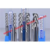 China Long Type 3 Flute End Mill Bits For Drill Press No Coating AOL 75 mm - 150 mm on sale
