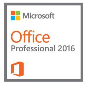 Buy cheap Microsoft Office Professional Plus 2016 1 user Office 2016 Professional Product Key from wholesalers
