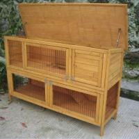Cheap Rabbit Hutch/Pet Cage with Waterproof Treatment, Measures 152 x 53 x 99cm  for sale