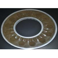Cheap Brass Wire Mesh Filter Disc Supporting For Filtering , 20-200 Micron for sale