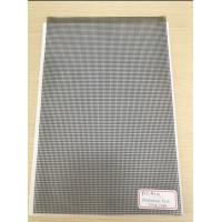 Cheap 500D X 500D 9x13 Reinforced PVC Coated Polyester Mesh Black Mesh for Outdoor Fence for sale