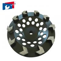 Cheap 5 inch Black Arrow Segmented Cup Wheel with Wet Grinding for Granite for sale