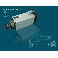 Hqd 6 kw square air cooling high speed spindle motor for for High speed spindle motors