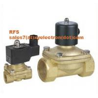 China Two Position Two Way Solenoid Valve - G3/8'' - G2'' on sale
