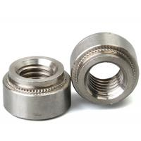 Cheap Stainless Steel Aluminum Blind Rivets Nuts Insert Round Head , Self Clinch Nuts For Sheet Metal for sale