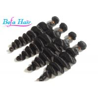 Cheap Coloured 24 Inch / 25 Inch Malaysian Virgin Hair Loose Wave For Black Women for sale