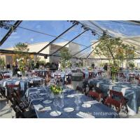 Cheap Transparent PVC Fabric Cover Luxury Wedding Tents for Parties With Aluminum Alloy Frame wholesale