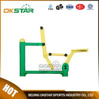 Cheap outdoor gym equipment steel based zinc powder coating Rider-OK-J02D for sale