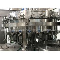 Cheap 6.57KW Power Carbonated Drink Filling Machine PE Srew Cap For Gas Contained Beverage for sale