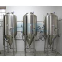 China Hot Sale Jacketed Stainless Steel Conical Fermenter For Beer&  Beer Tank 1000L For Sale on sale