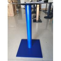 Height 720mm Metal Table Legs Square Base Stainless Steel Commercial Furniture