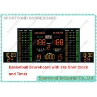 Cheap Wireless Electronic Basketball Scoreboard And Shot Clock With Play Time And Buzzer for sale