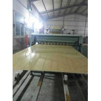 Cheap WPC Marble Wall Panel Extrusion Line , PVC Marble Plastic Panel Production Line for sale