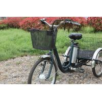 China LED Five Adjustable electric cargo tricycle , Shimanuo Derailleur motorized 3 wheel bicycle on sale