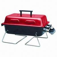 Cheap Portable BBQ Grill with Foldable Legs, Built-in Gas Grill Replacement Parts for sale