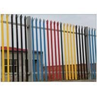 Cheap Zinc Coated Wire Metal Fence IPE Post  D Section Durable With Angle Iron Rail wholesale