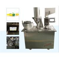 Cheap New style Semi-automatic Capsule Filling equipment with PLC control for sale