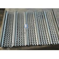 Cheap 0.23mm Thickness Galvanized High Ribbed Formwork  For Building 2m Length for sale