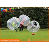 Cheap TPU / PVC Inflatable Zorb Ball / Adult Body Bumper Ball For Entertainment for sale