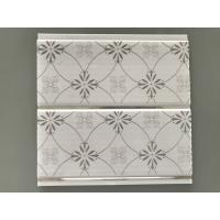 Cheap Fire Resistant Pvc Wall Cladding Flat Board , 250mm Width Ceiling Panels Bathroom for sale