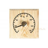 Solid Wooden Thermometer Hygrometer Temperature for Dry Sauna Room Accessories