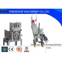 Cheap Custom Downspout And Elbow Forming Machine For Downspout / Down Pipe for sale