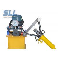 Portable Manual Hydraulic Steel Bending Machine / Concrete Spraying Equipment