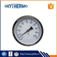 China High Quality Special design bimetal thermometer temperature gauge water testing on sale