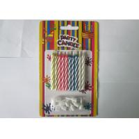 Cheap Paraffin Magic Relighting Birthday Candles Multi Colored For Party Decoration for sale