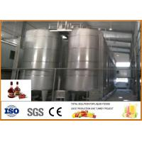 Cheap Small Waxberry Fruit Wine Processing Plant SS304 Material With PLC Control System for sale