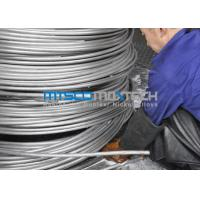 Cheap Bright Annealed Stainless Steel Coiled Tubing For Oil And Gas Industry for sale