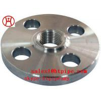 Cheap ASTM B564 UNS N04400  UNS N06600 nickel alloy forged threaded   flange ASME B16.5 wholesale