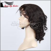 Cheap Brazilian hair front lace wig,100% remy hair wig, front lace wig can be customized. for sale