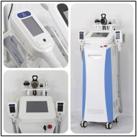 Cheap Beauty Equipment Cryolipo fat freezing+rf+cavitation cryolipolysis weight loss machine with 3 years warranty for sale