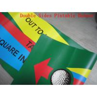 Cheap Custom Made Reinforced Pvc Vinyl Banners Double Sided 1440 Dpi Printing wholesale