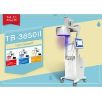 China Three Wavelength  Hair Loss Treatment Machine LED Light Color Touch Sreen Diode Laser on sale