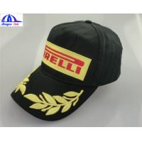 Cheap 2016 Fashion 100% Cotton Customized Baseball Caps With Snapback , Embroidery . for sale