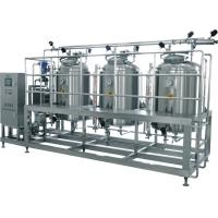 Cheap Auto CIP Cleaning System / Minute Vertical CIP Systems For Milk and Juice Production Line for sale