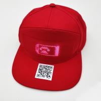 China Unisex LED Light Up Baseball Cap DC 1.5V Micro EL Drive Type OEM Accepted on sale