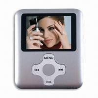 Cheap Good MP4/MP3 Player, 1.8-inch TFT LCD Screen, FM Radio, Model Design for sale