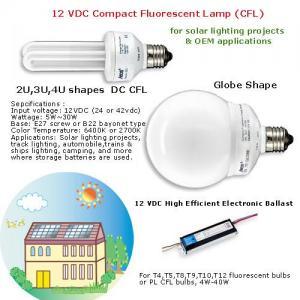 China 12vdc dc ballast fluorescent lamp ballast for solar lighting on sale
