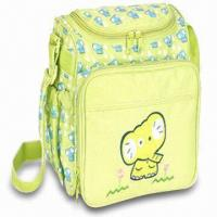 Cheap Diaper Bag, Made of Polyester, Measuring 9.25 x 6 x 8.25 Inches for sale