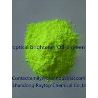 fluorescent bleaching agent Optical brightening agents (oba) | properties of fluoroscent whitening agents for textiles optical brightening agents: the coloring matter, whether it is natural or present as a contaminant in the fiber is generally decolorized by different bleaching methods.