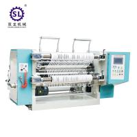 Cheap 100-200 m/min Speed Tension Control Auto Slitting Machine  for Paper Straw for sale