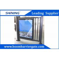 Cheap Aluminum Alloy Metal Automatic Swing Gate Door With Adjustable Led Scrips for sale
