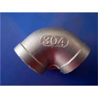Cheap ASTM B564 UNS N06600  45/90 deg nickel alloy forgrd threaded elbow ASME B16.11 for sale